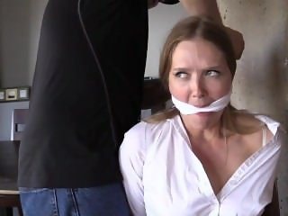 He Had The Wrong Girl Tied Up And Gagged Over His Shoulder