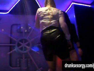 Bisexual pornstars fucking in a club
