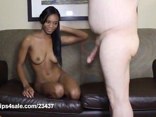 18 Year Old Ebony Beauty Jennifer Blue's Nude Interview