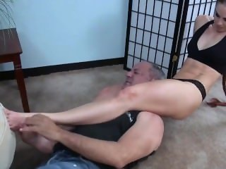 mixed wrestling smother