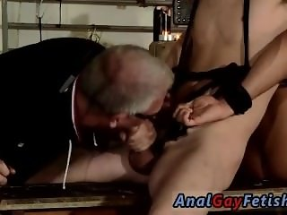 Hairy old teacher fucks student gay porn Double The Fun For Sebastian