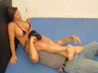 Mixed Wrestling - Sexy domination