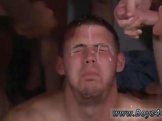 Twink cumshot face facial Kent Riley's weakness: DICKS!