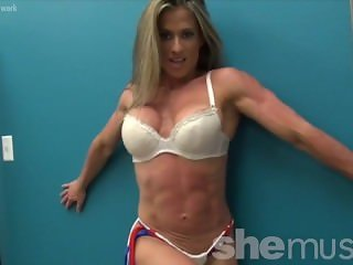 Sexy Muscle Goddess Maria G