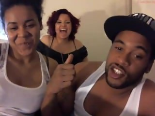 Two white girls one huge black dick - amateur webcam