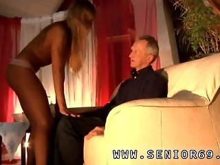 German old and young Lisa, Pauls fresh girlfriend, is always well-prepped