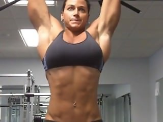 What an ABS what an Arms what a Girl (Sexy Fitness Babe)