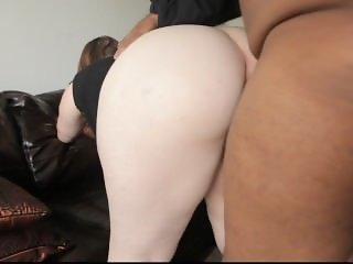 Raeann from 1fuckdate.com - Pretty bbw gets big black dick in