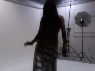 SaXXX SAXXXJUST4U MsSaXYJACKSON Dancing half Naked At Indie PhotoShoot