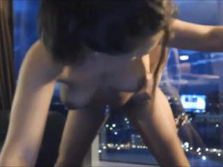Very Nice Young Couple Fucking In Front Of The Window on 4XCAMS.COM