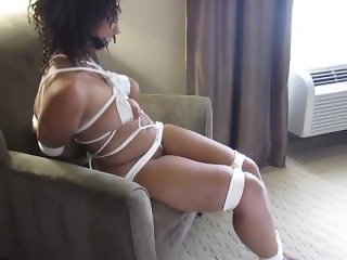 Dani Naked and Tied UP