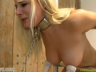 Milking Hot Blonde Teen German Girls with huge tits