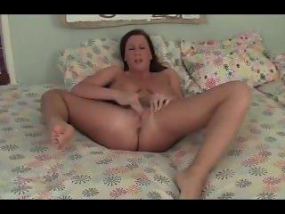Big tits amateur solo