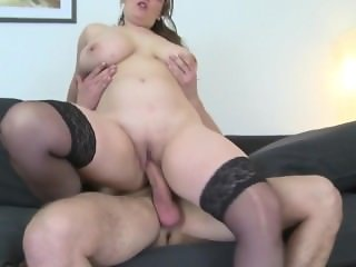 Young Son Fucks Sexy Mature Busty FROM SEXDATEMILF.COM Not His Mom