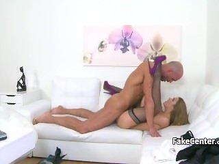 Fucking casting agent after neck massage