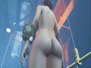 Fallout 4 CBBE Mod Fully Nude! Bigger Butt & Bigger Tits!