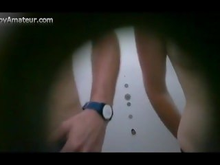 Hidden Cam in Cabin Films Teen Undressing