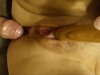 Vibrator + Cock Equals a Great Orgasm
