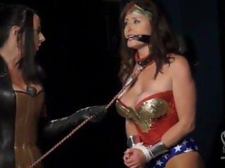 Wonder Woman Fetish Slave