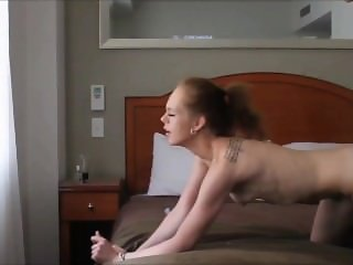 Me fucking a young Aussie babe in a hotel room