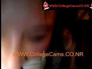 College Cheerleader Sucking Dick Video Leaked WWW.CollegeCams.CO.NR