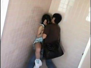 Cute Toilet Japanese Girl