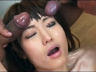 asian schoolgirl bukkake