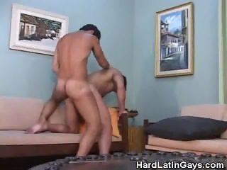 Muscled Latinos Ass Fucking