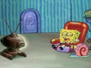 Spongebob Watching Porn