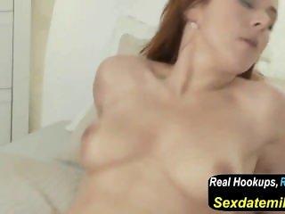 Mom Naughty Redhead MILF in Stockings Has a Fuck