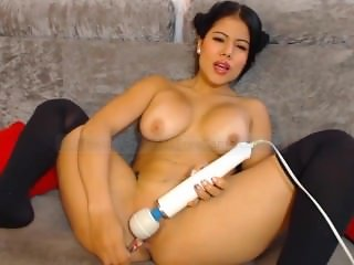 Instagram Escort Model Tefit1 Glass Dildo And Hitachi