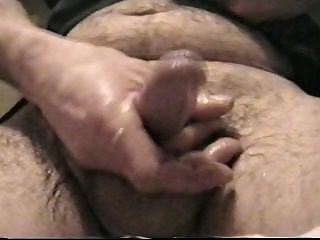 pulling my cock in stockings