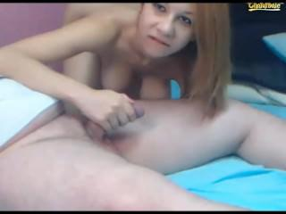 she loves riding cowgirl then sucking