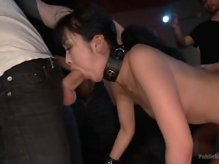 Japanese whore Marica Hase fucked and put back in her place by the public