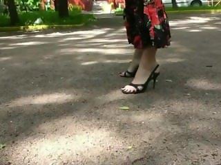 Hot Eastern European Girl's Feet