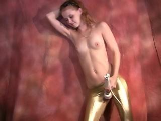 Topless Hitachi Dancing From McKenzie