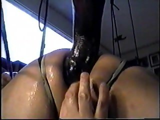 Extreme close up anal stretching lesson part 2