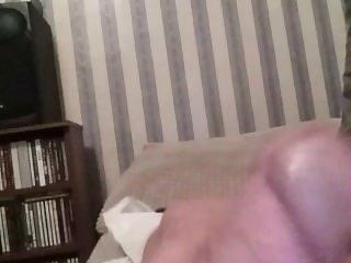 wanking while watching porn