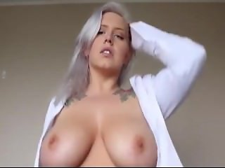 POV fuck your big tits grey hair mom and give her a huge creampie