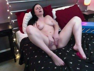 girl caught masturbating with skate shoe