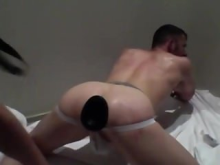 GReedy fist and piss pig hole