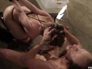 PORNFIDELITY -Brooklyn Lee Gets Ass Fucked After Water Torture