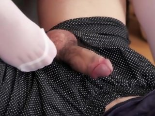 Yui Kasugano Stockings Footjob