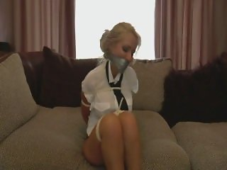 BB Tape gagged 3