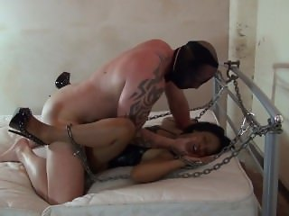 UK Pornstar Lola Marie Chained and Fucked