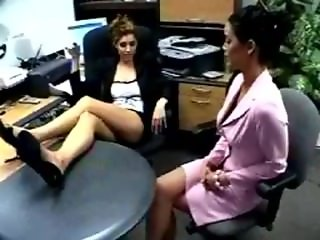 jamie lynn vs melany office catfight