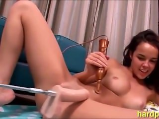 Dillion Harper Screwed Hard by Fucking Machine