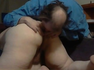 bbw ass spread and lick