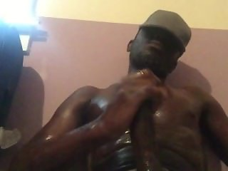Oiled up body bbc nut
