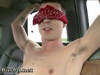 Licking a sexy gay asian boys ass Trolling the bus stop